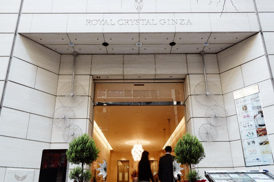 ロイヤルクリスタルカフェのアクセスページ写真
